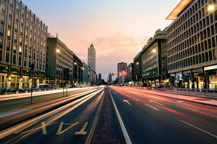 Milano Centrale, via Vittor Pisani