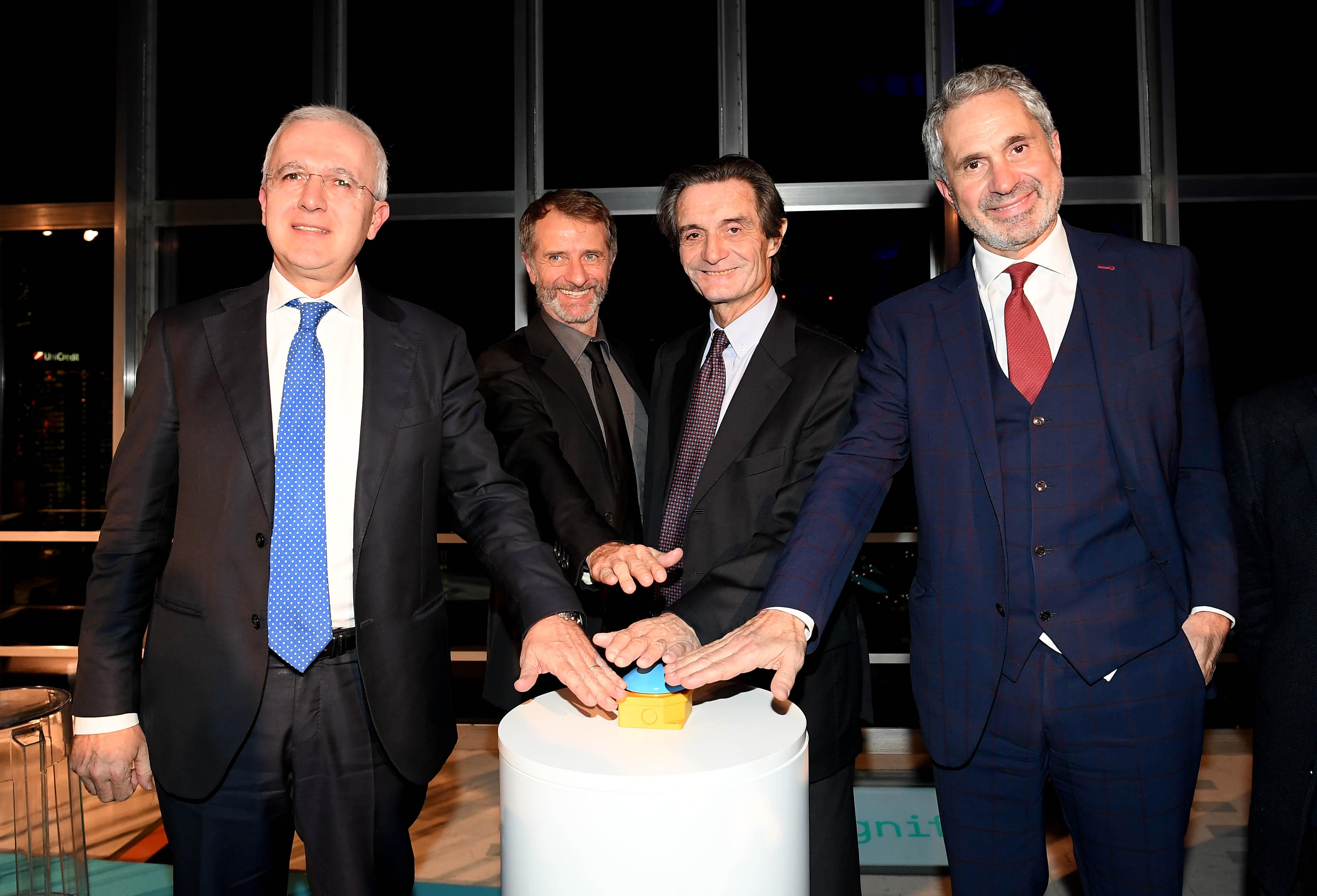 Inaugurato il progetto illuminotecnico di A2A per l'edificio simbolo di Regione Lombardia