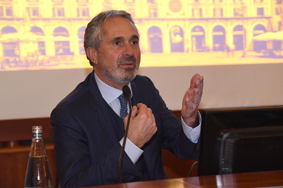 Luca Valerio Camerano presenta il quinto Bilancio di Sostenibilità di Brescia