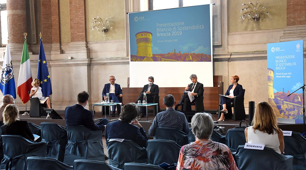 A2A presenta il sesto bilancio di sostenibilita' di Brescia