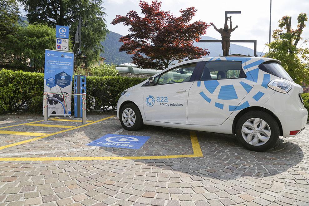 Lumezzane, inaugurata la nuova rete di ricarica per veicoli elettrici