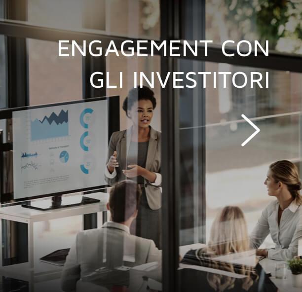 Engagement con gli investitori