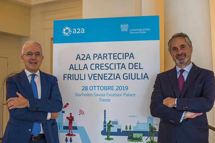 A2A - Presidente Giovanni Valotti e AD Luca Valerio Camerano